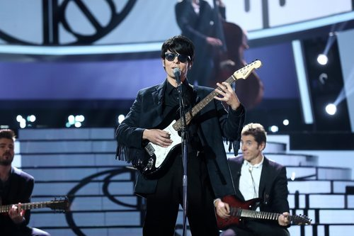 Jordi Coll imita a Roy Orbison en la Gala 8 de 'Tu cara me suena'