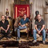 Nacho Vigalondo, Pepón Montero y Borja Cobeaga, directores de 'Justo antes de cristo'