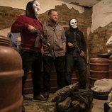 David Beriain con la mafia de Albania en 'Clandestino'