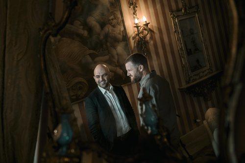 David Beriain y la Baby Camorra en 'Clandestino'