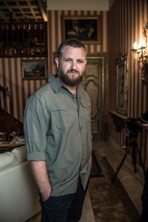 David Beriain en su foto promocional de 'Clandestino'