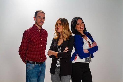 Los presentadores de 'Ese programa del que usted me habla'