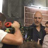 Roberto Álamo y Miriam Giovanelli en 'Caronte'
