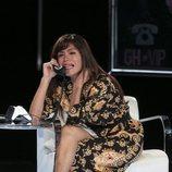 Miriam Saavedra llamando por teléfono en la gala 11 de 'GH VIP 6'