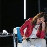 Mónica Hoyos llamando por teléfono en la gala 11 de 'GH VIP 6'