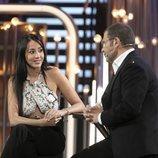 Jorge Javier Vázquez entrevista a Aurah Ruiz en la gala 11 de 'GH VIP 6'