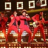 Carlos Baute imita a Bruno Mars en la Gala 9 de 'Tu cara me suena'