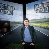 El presentador Jesús Cintora en la presentación de 'Carretera y manta'