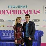 Marta Hazas y Javier Veiga, pareja protagonista de 'Pequeñas coincidencias'