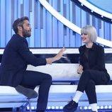 Roberto Leal habla con Alba Reche en la Gala 10 de 'OT 2018'