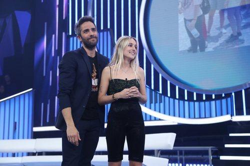 Roberto Leal acompaña a María tras su expulsión en la Gala 10 de 'OT 2018'