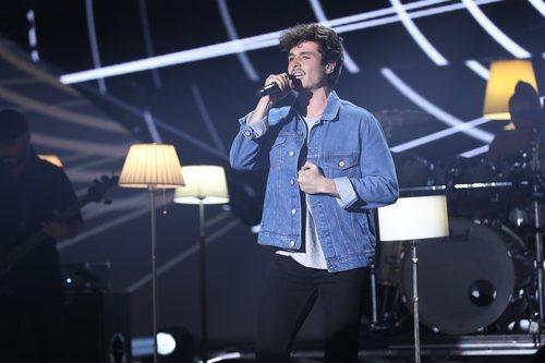 Miki cantando en la Gala 10 de 'OT 2018'