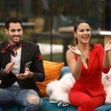 Mónica Hoyos y Asraf durante la Gala 12 de 'GH VIP 6'