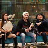 Miriam, Tony Spina y El Koala durante la Gala 12 de 'GH VIP 6'