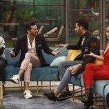 El Koala, Suso, Asraf y Mónica Hoyos durante la Gala 12 de 'GH VIP 6'