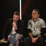 Tony Spina y El Koala en la sala de expulsión durante la Gala 12 de 'GH VIP 6'