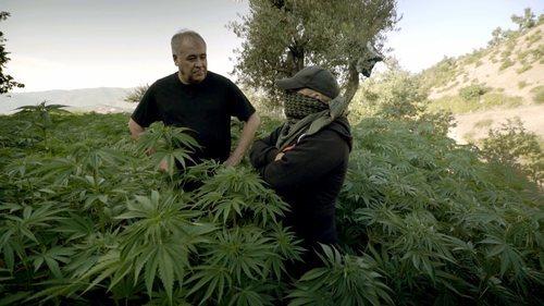 Ferreras entrevista a un cultivador de hachís en 'Estrecho'