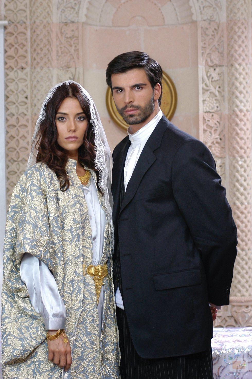 Sila y Boran el día de su boda en 'Sila', telenovela turca que llega a Nova