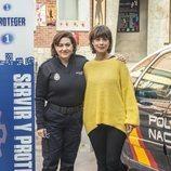 Luisa Martín y Andrea del Río en la temporada 3 de 'Servir y proteger'
