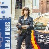 Marta Belmonte en la temporada 3 de 'Servir y proteger'