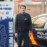 Antonio Garrido en la temporada 3 de 'Servir y proteger'