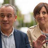 Javier Gutiérrez y Malena Alterio en la temporada 2 de 'Vergüenza'