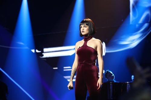 Natalia en la Gala 11 de 'OT 2018'