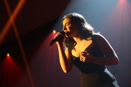Marta Sango, en la Gala 11 de 'OT 2018'