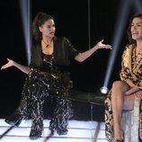 Mónica Hoyos y Miriam Saavedra en la gala 13 de 'GH VIP 6'