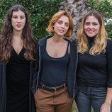 Las tres directores de 'Déjate llevar'
