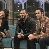 Mónica Hoyos, Suso y Asraf en la gala 13 de 'GH VIP 6'