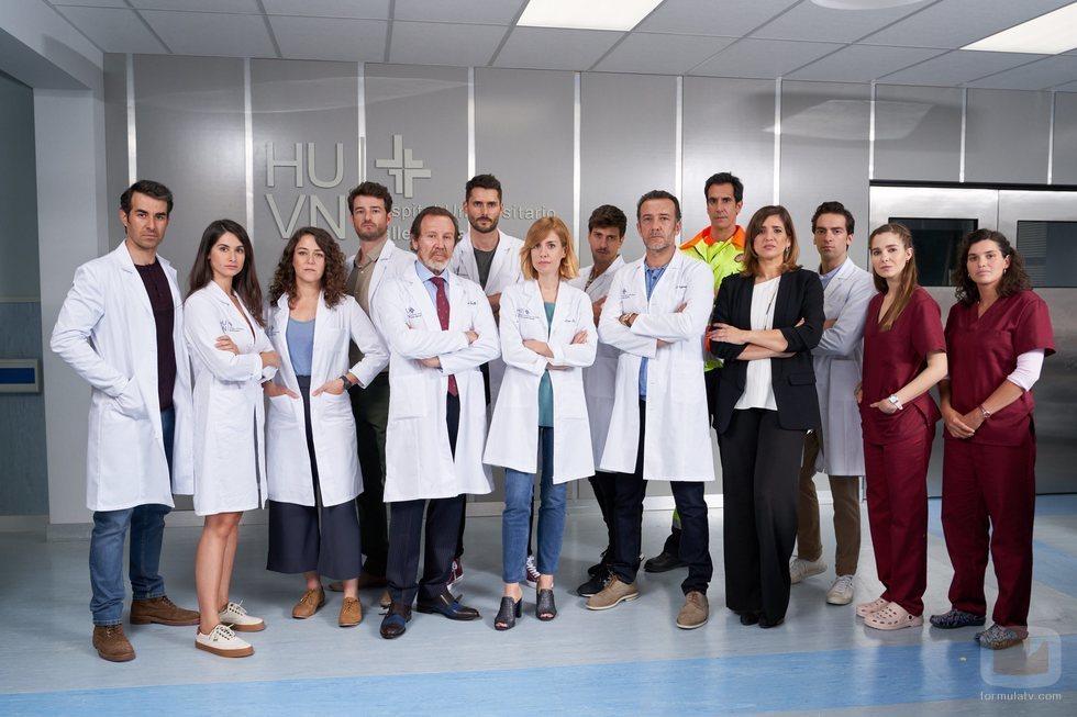 Equipo de 'Hospital Valle Norte' en su primera temporada