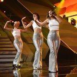 Alba Reche, Julia y Natalia en el trío de la Gala 12 de 'OT 2018'