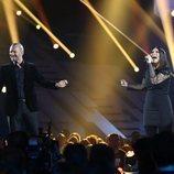 Laura Pausini y Biagio Antonacci actúan en la Gala 12 de 'OT 2018'
