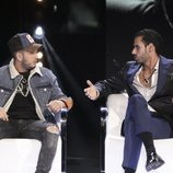 Omar Montes y Asraf en la gala 14 de 'GH VIP 6'