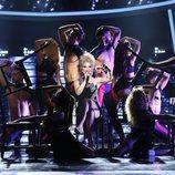 Soraya es Kylie Minogue en la gala 11 de 'Tu cara me suena'