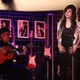 Mimi como Amy Winehouse en la Gala 11 de 'Tu cara me suena'