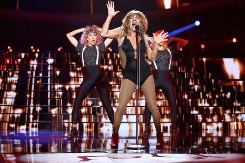 José Corbacho se transforma en Tina Turner en la Gala 11 de 'Tu cara me suena'