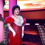 Brays Efe actúa como Sara Montiel en la Gala 11 de 'Tu cara me suena'