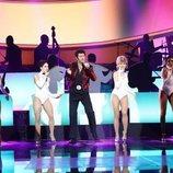 Manu Sánchez hace de Tom Jones en la Gala 11 de 'Tu cara me suena'