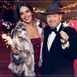 Cristina Pedroche y Alberto Chicote muy navideños para promocionar las Campanadas 2018-2019