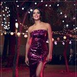 Cristina Pedroche luce vestido para promocionar las Campanadas 2018-2019