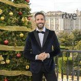 Roberto Leal posando en la presentación de la Navidad de RTVE