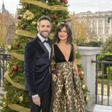 Roberto Leal y Elena Sánchez en la presentación de la Navidad de RTVE