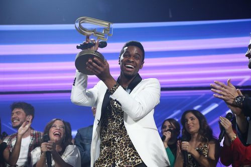 Famous, ganador de 'OT 2018', en la Gala Final
