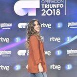 Julia, la quinta finalista de 'OT 2018', en la rueda de prensa tras la final