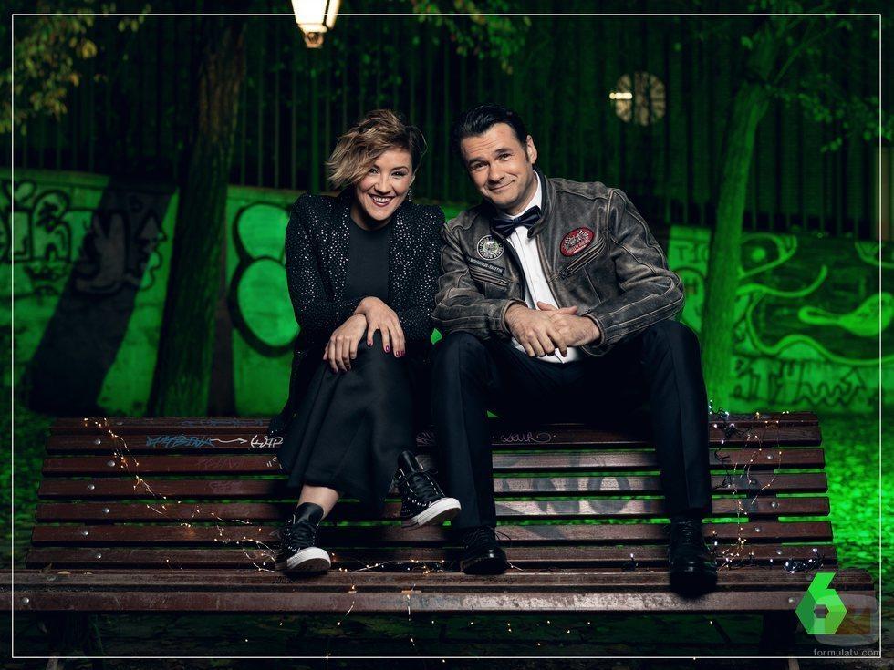 Cristina Pardo e Iñaki López darán la bienvenida al 2019 en laSexta