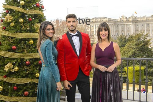 Encargados de retransmitir el Sorteo de la Lotería de Navidad de 2018 en TVE