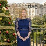 Pepa Fernández presenta la Lotería de Navidad en RNE