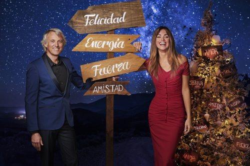 Jesús Calleja y Lara álvarez, presentadores de las Campanadas 2018-2019 de Mediaset